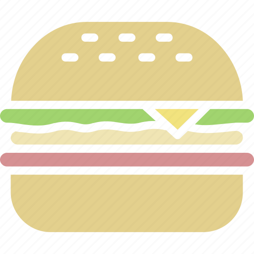 burger, cheeseburger, hamburger icon