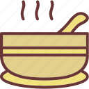 bowl, pot, soup icon