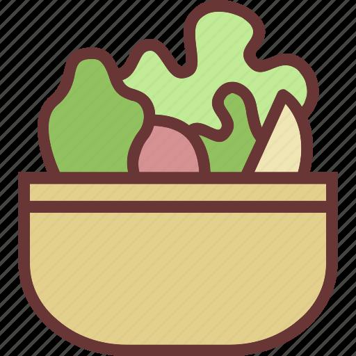 healthy, salad, vegetables icon