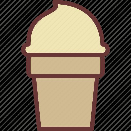 cone, cream, ice, ice cream icon