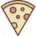 fast food, pizza, slice icon