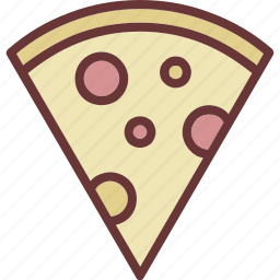 fast food, pizza, slice icon