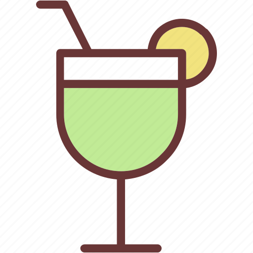 cocktail, glass, party icon