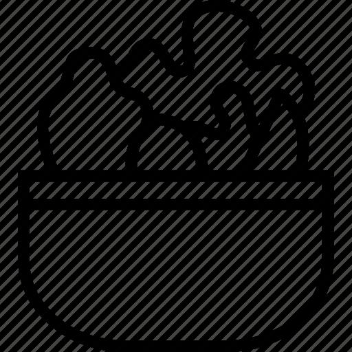 Salad, healthy, vegetables icon - Download on Iconfinder