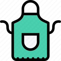 apron, barbecue, cooking, drink, food, kitchen icon