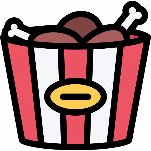 Barbecue, breaded, chicken, cooking, drink, food, kitchen icon - Download on Iconfinder