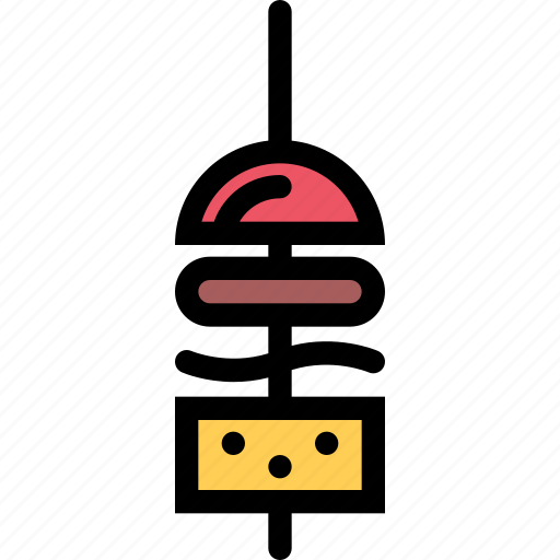 barbecue, canape, cooking, drink, food, kitchen icon