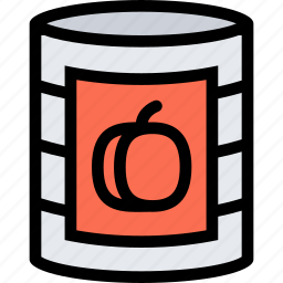 barbecue, canned, cooking, drink, food, kitchen, peach icon