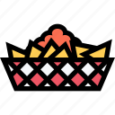 barbecue, cooking, drink, food, kitchen, nachos icon
