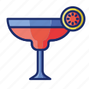 alcohol, cocktail, margarita, mocktail icon