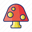 fungus, mushroom, shroom icon