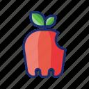 apple, raw, fresh, fruit