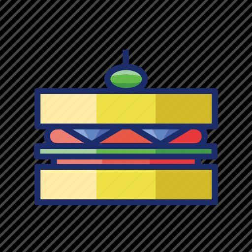 bread, sandwich, toast icon