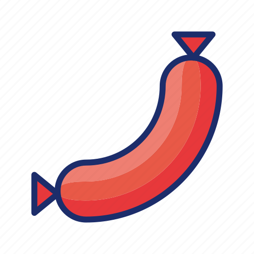 bbq, hot dog, sausage icon