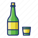 alcohol, soju, wine icon