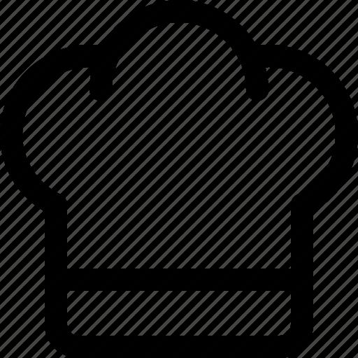 chef, hat, kitchen, reastaurant icon