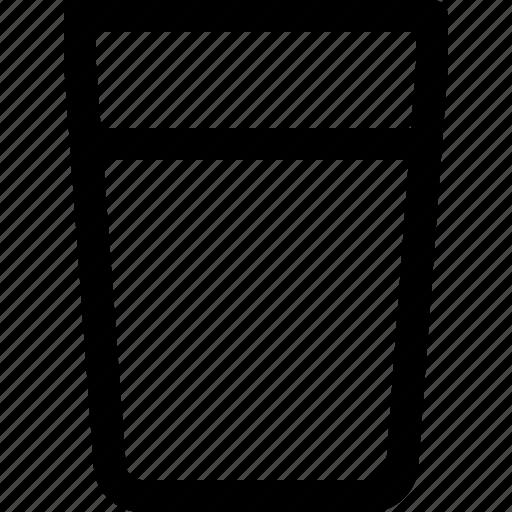 glass, juice, soda, water icon