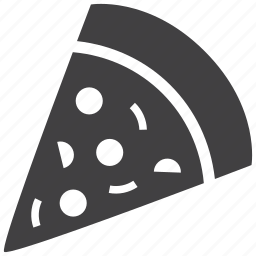 eat, fast, food, italian, meal, pizza, slice icon