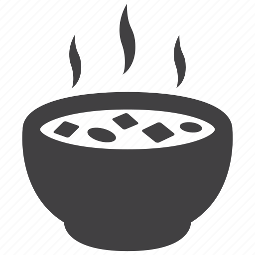 bowl, food, healthy, hot, meal, soup, vegetable icon