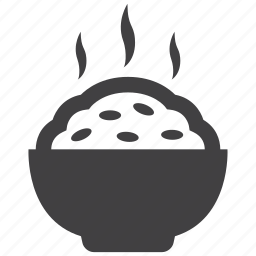 bowl, food, japanese, rice, roll, steamed, sushi icon