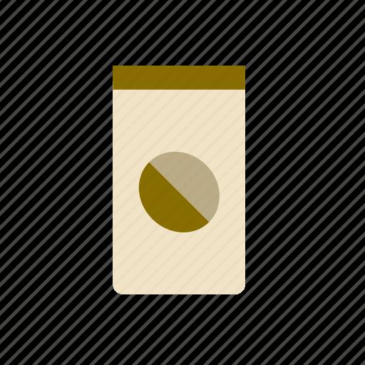 bag, bean, can, coffee, food, sack, tin icon