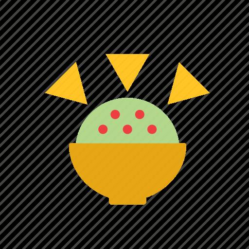 avocado, food, guacamole, mexican, mexico icon