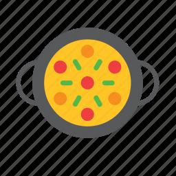 dish, food, paella, rice icon