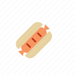 food, sandwich, sausage, wiener icon