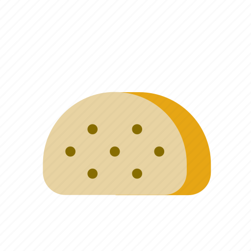 bread, food, piece, slice icon