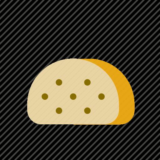 bread, food, piece, slice icon