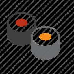 food, japan, japanese, sushi icon