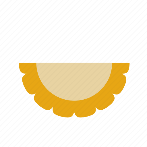 empanada, food, pasty, pie, turnover icon