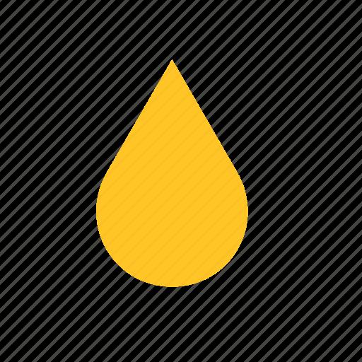 drop, droplet, food, honey icon