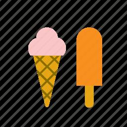 dessert, food, ice cream icon