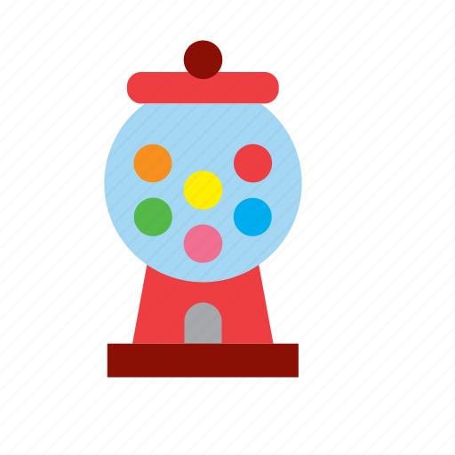 ball, candy, food, gum, gumball, machine, sweets icon