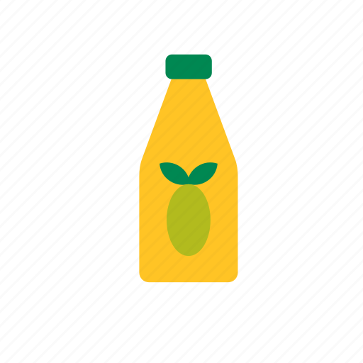 bottle, food, oil, olive icon