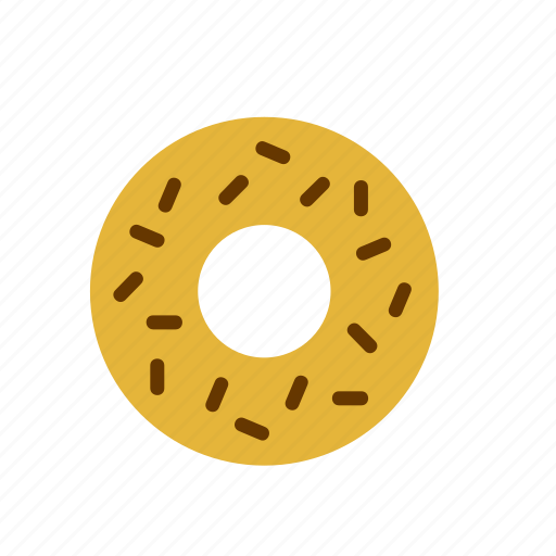 biscuit, donut, doughnut, food icon