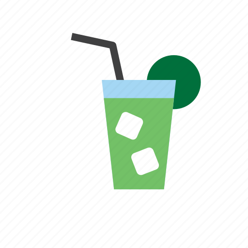 beverage, cocktail, drink, mojito, soda icon