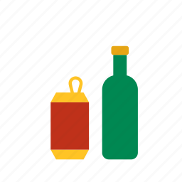 alcohol, alcoholic, beverage, bottle, can, drink icon