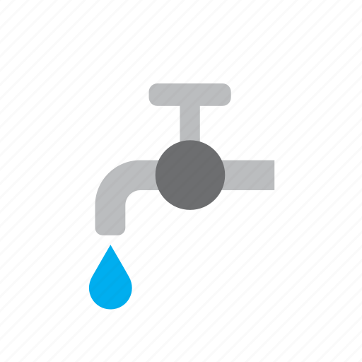 beverage, drink, faucet, save, tap, water icon