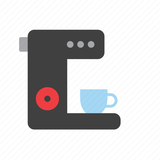 appliance, beverage, coffee, cup, drink, machine, maker icon