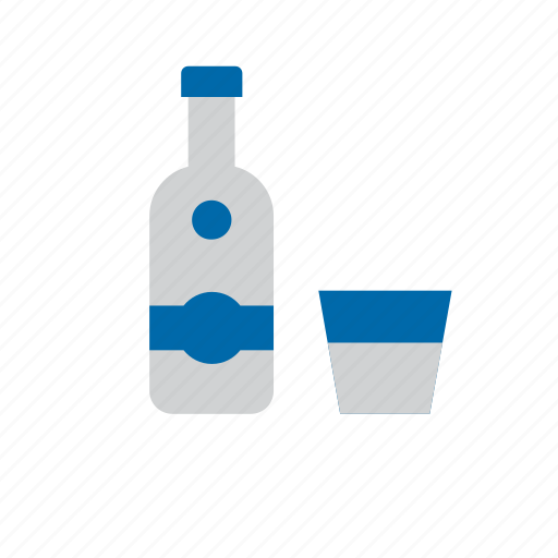 alcohol, alcoholic, beverage, drink, glass, vodka icon