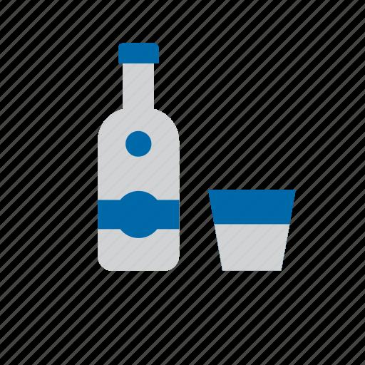 alcohol, alcoholic, beverage, drink, glass, vodka icon