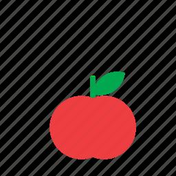 apple, food, fruit, tomato, vegetable icon
