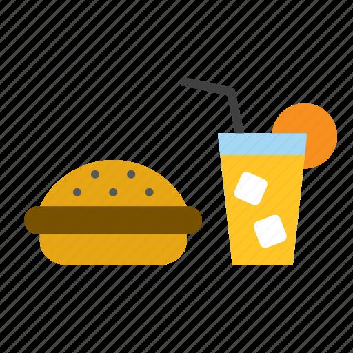 beverage, burguer, drink, fast, food, hamburguer, soda icon