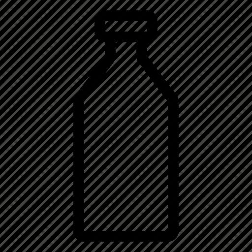 beverage, bottle, drink, food, glass icon