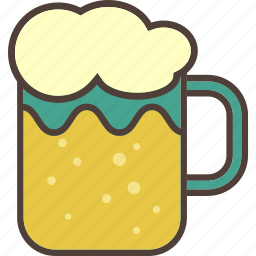 alcohol, beer, drink, free time, night out, party icon