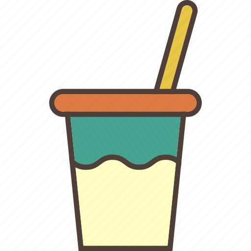 cup, drink, ice, refreshments, soda icon