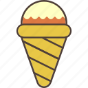 chocolate, cold, cone, icecream, strawberry, summer, sweet