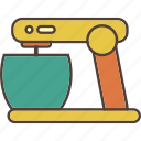 baking, cook, cooking, kitchen, mixer icon